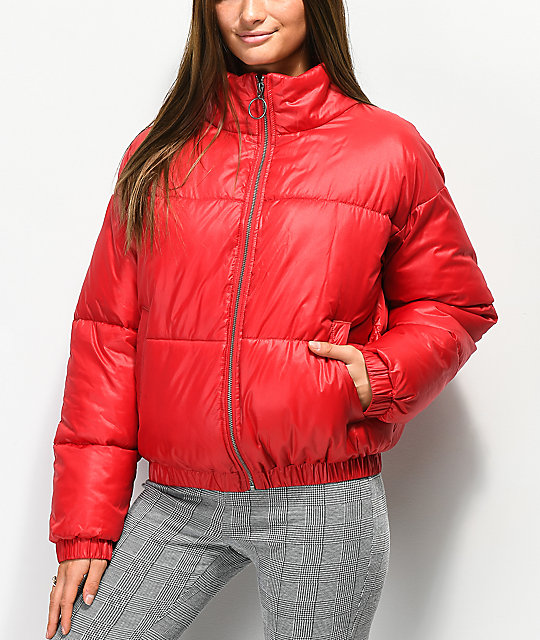 Ninth Hall Chance Red Puffer Jacket