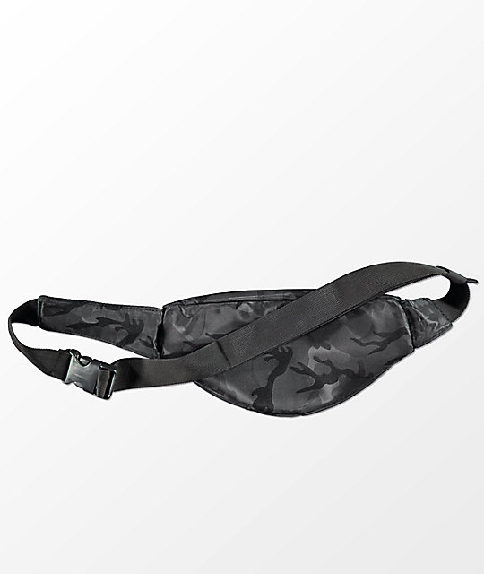 Ninth Hall Dannypack Black & Camo Fanny Pack
