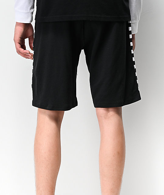 Ninth Hall Jay Pop shorts de baloncesto en negro y blanco