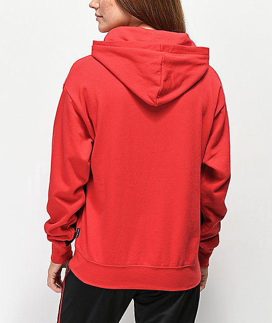 Ninth Hall Maggie Red Cheetah Hoodie