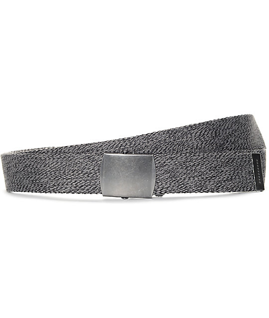 Ninth Hall Marshall Marled Black Long Belt