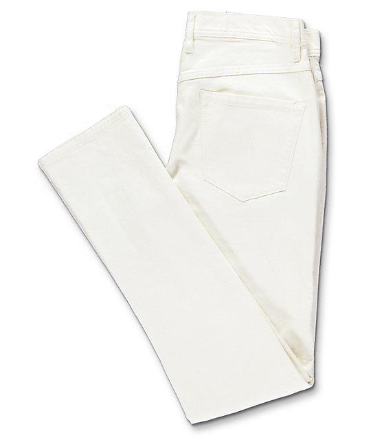 Ninth Hall Rogue Off-White Shred Jeans