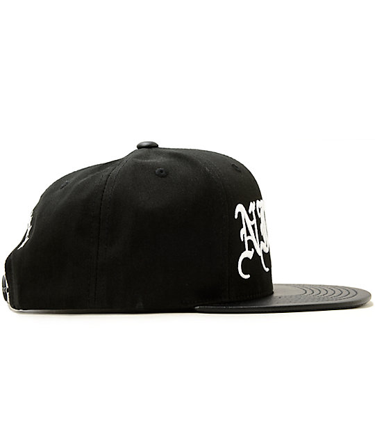 1380cf37e26 ... Ninth Hall Script Snapback Hat