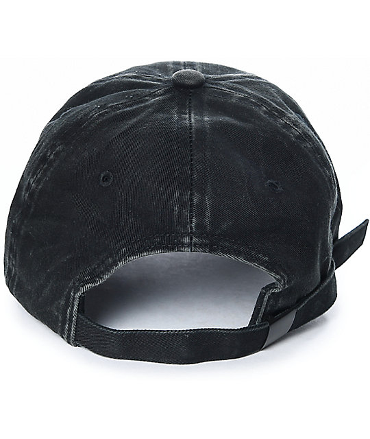 Ninth Hall Standard Black Strapback Hat
