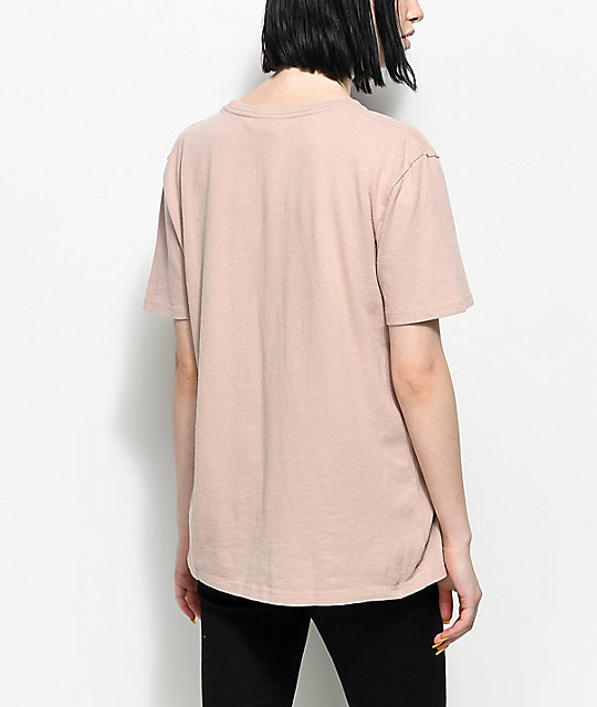 Ninth Hall Steph Shadow Grey Pocket T-Shirt
