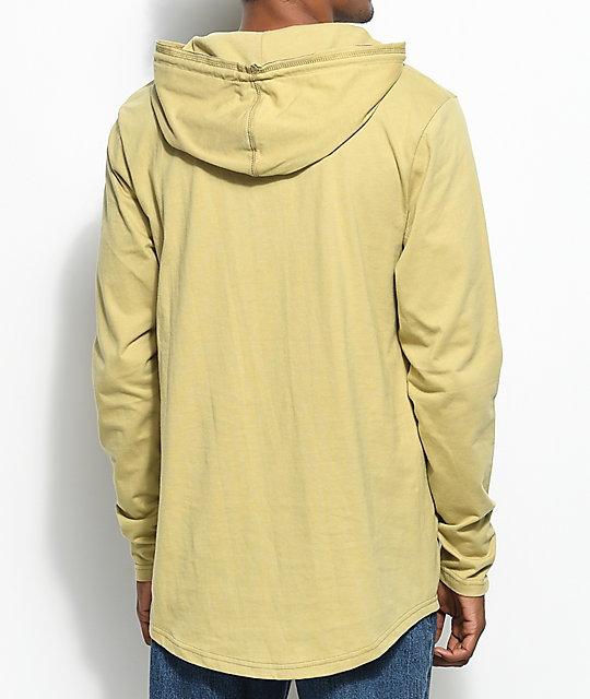 Ninth Hall Surface Light Green Hooded Shirt