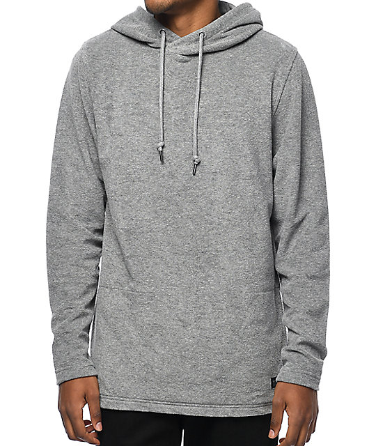 Ninth Hall Tracker Grey Pullover Hoodie