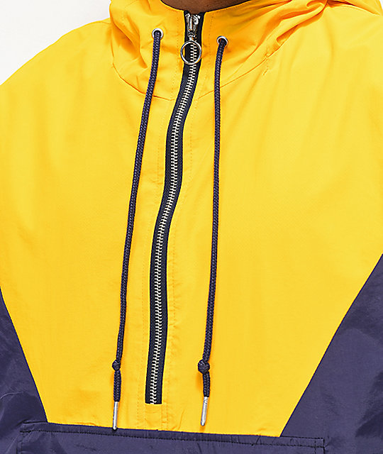 Ninth Hall Trudge chaqueta anorak amarillo, azul y blanco