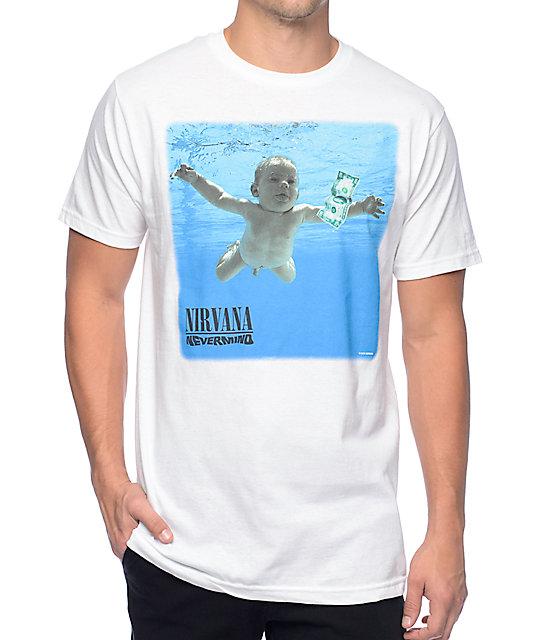 e2b45313 Nirvana Nevermind White T-Shirt | Zumiez
