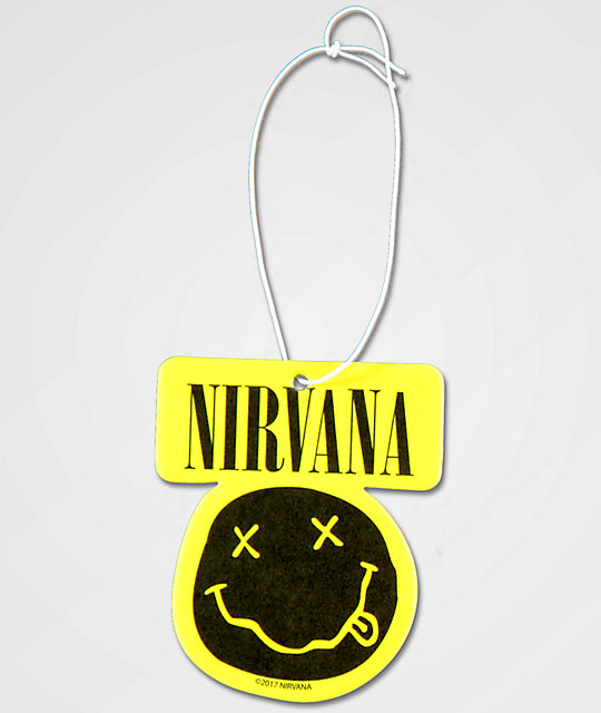 Nirvana Smiley Air Freshener