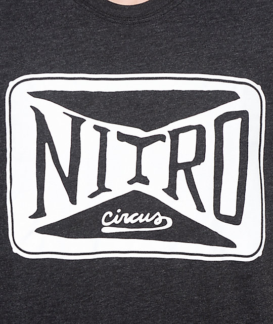 Nitro Circus Patch camiseta negra