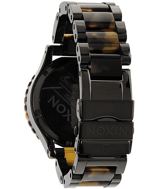 Nixon 42-20 Chrono Tortoise Watch