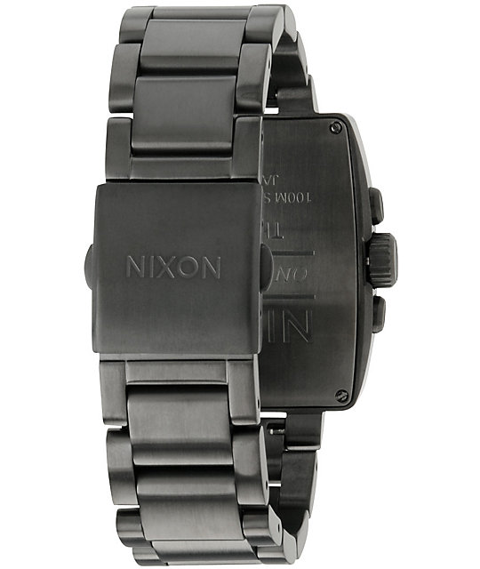 Nixon Axis All Gunmetal Mens Analog Watch