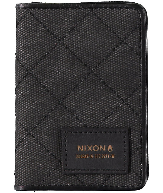 New Nixon Bespoke Cardholder Camo Wallet