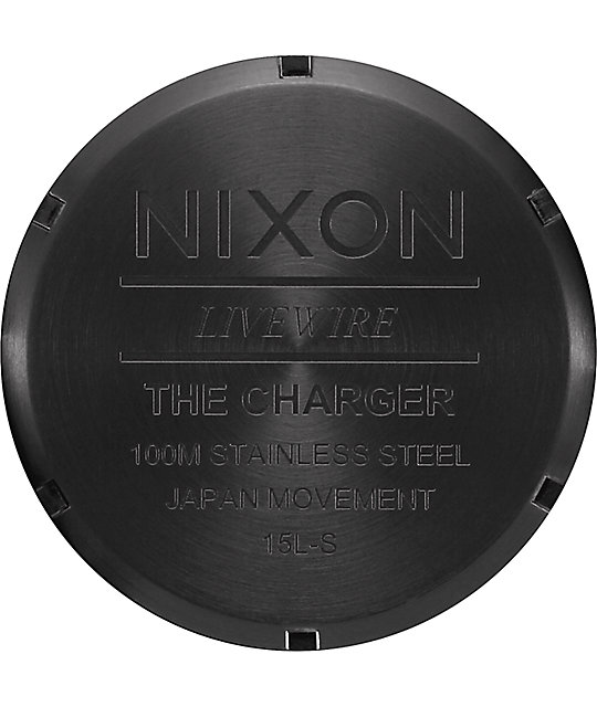 Nixon Charger All Black Watch