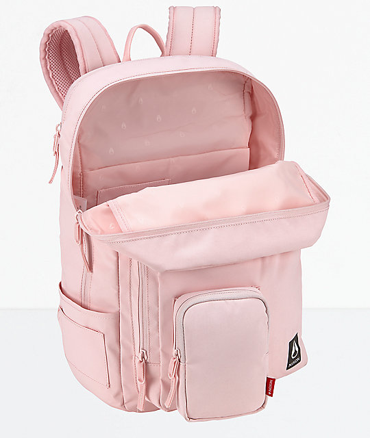 Nixon Daily Pink Petal Backpack