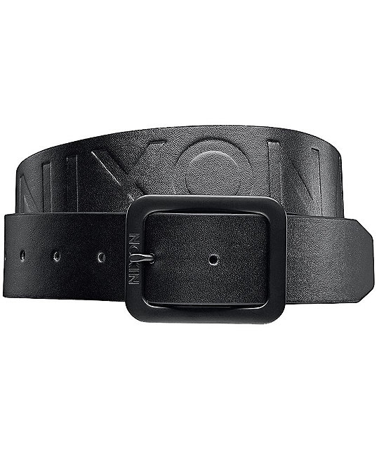 Nixon De Facto II Black Belt