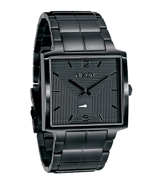 Nixon District All Black Analog Watch