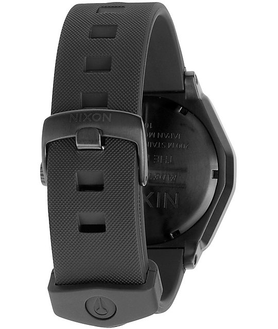 Nixon Fader Black Analog Watch