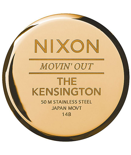 Nixon Kensington All Gold Analog Watch