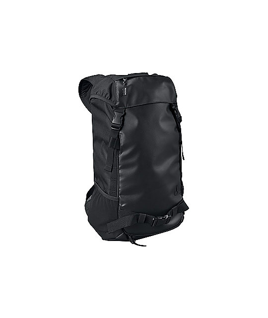 Nixon Landlock Black Skate Backpack