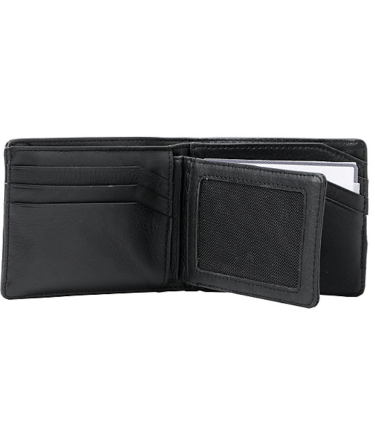Nixon Pass ID Black Wallet