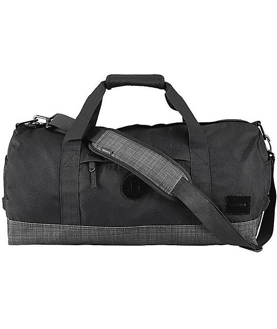 Nixon Pipes Black Wash 32l Duffle Bag