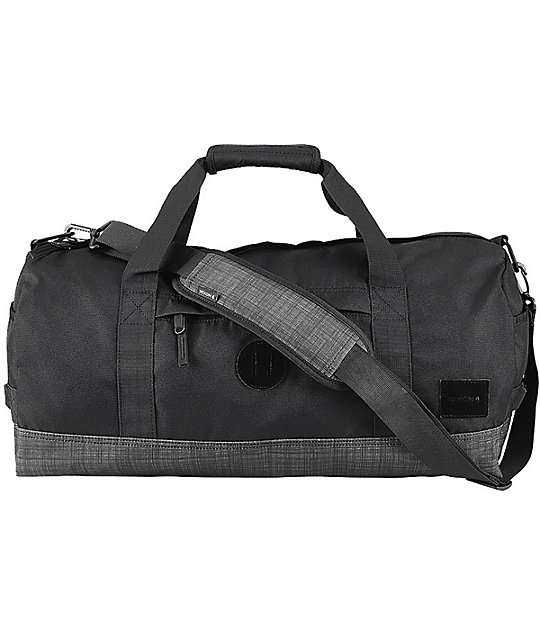 Nixon Pipes Black Wash 32l Duffle Bag