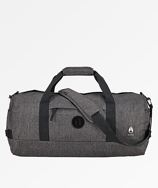Nixon Pipes II All Black 34L Duffle Bag