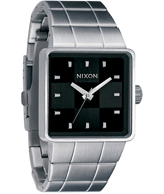 Nixon Quatro Black Analog Watch