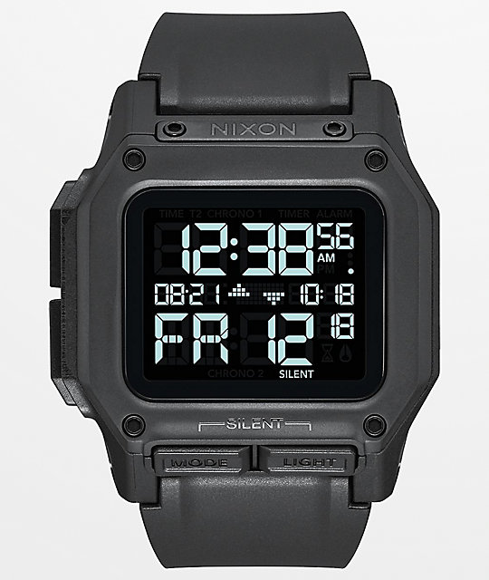 Nixon Regulus All Black Watch