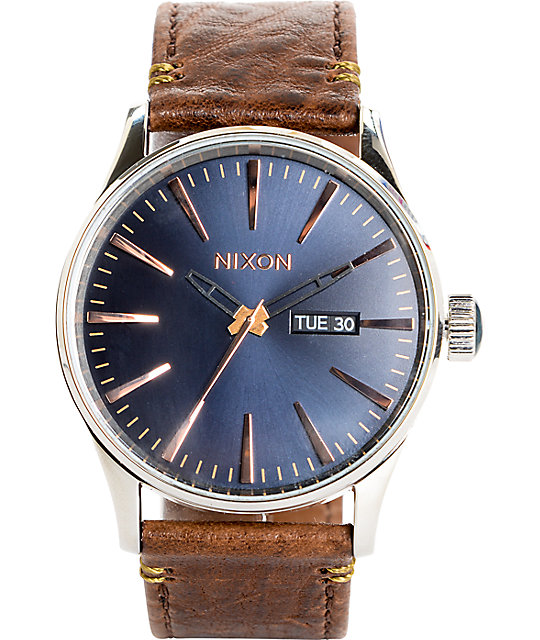 com sentry watches silver nixon wood ss