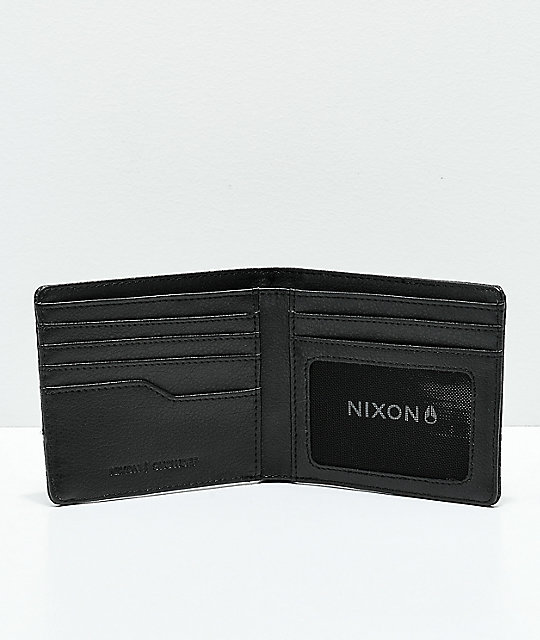 Nixon Showoff Dark Tiger Camo cartera plegable