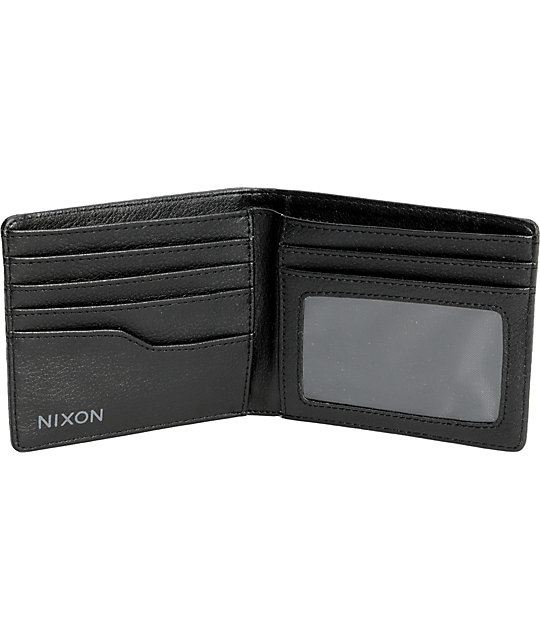 Nixon Showoff Philly Black Wallet
