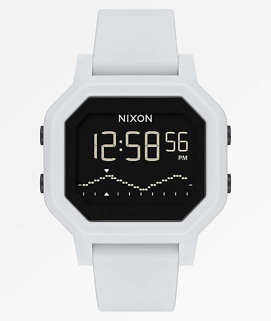 Nixon Siren White Digital Watch