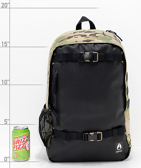 Nixon Smith III Multi-Camo & Black Backpack