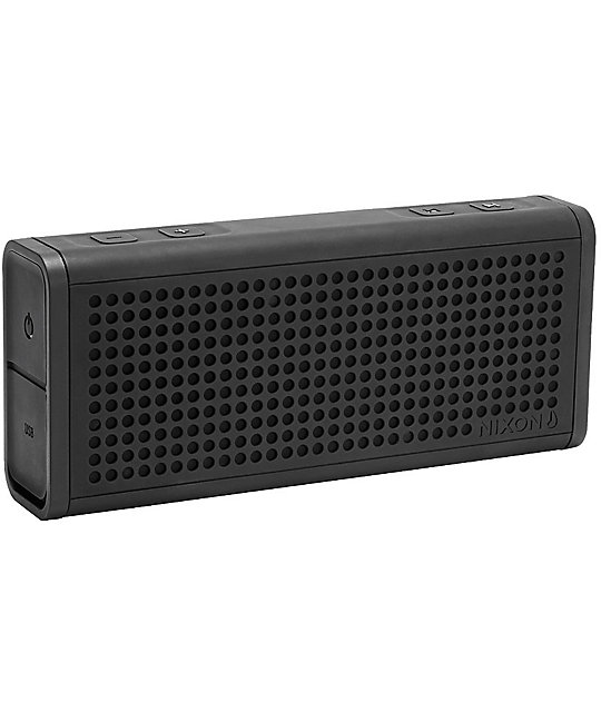 Nixon The Blaster Black Portable Wireless Speaker | Zumiez