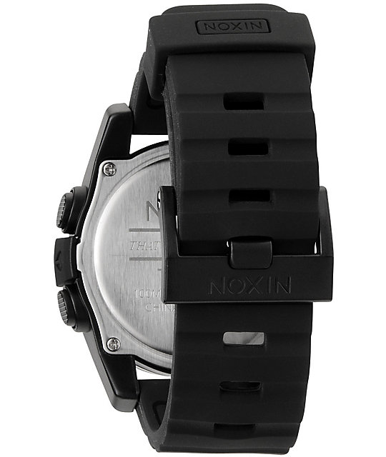 Nixon The Unit Black Digital Watch