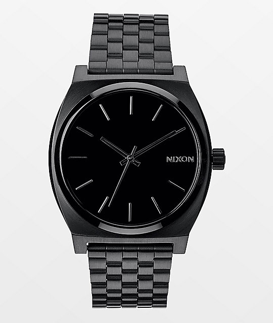 Nixon Time Teller All Black Analog Watch