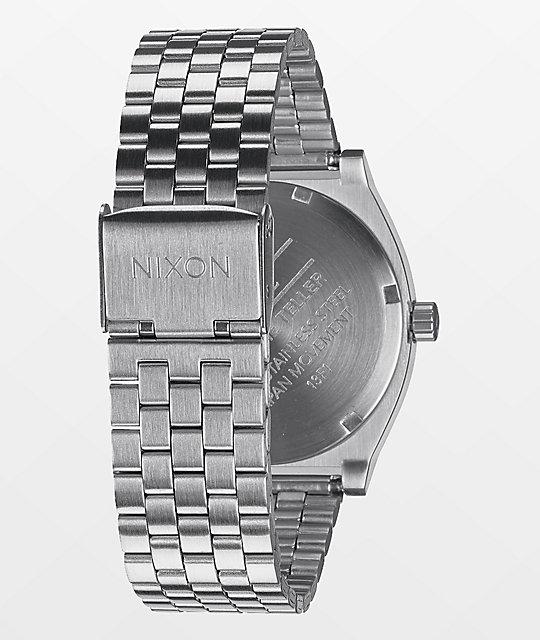 Nixon time teller analog watch zumiez for Watches zumiez