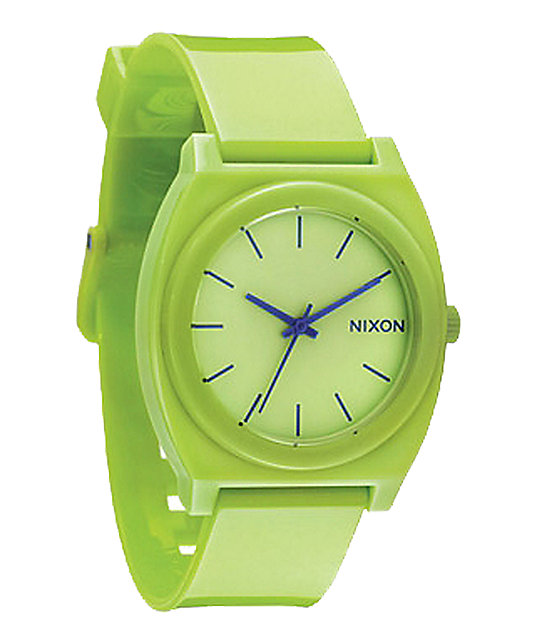 Nixon Time Teller P Lime Watch