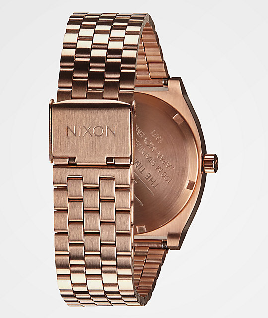 Nixon Time Teller Rose Gold Analog Watch