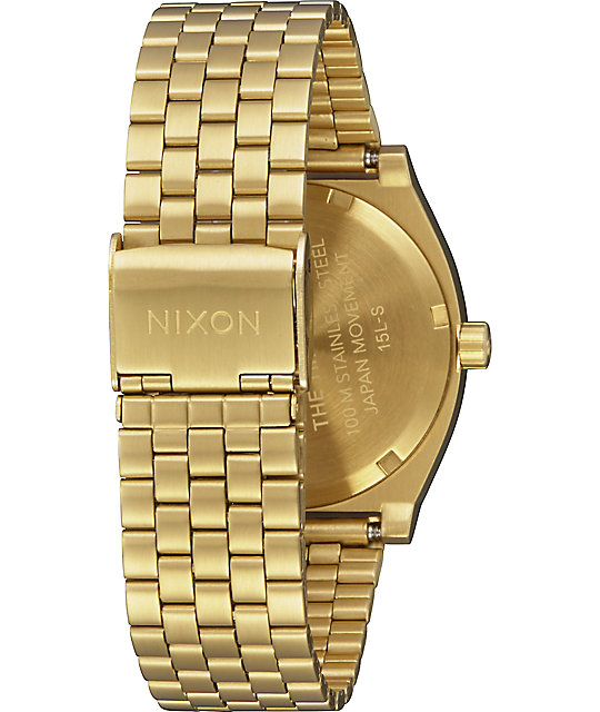 Nixon Time Teller Sacred Geo Gold & Black Watch