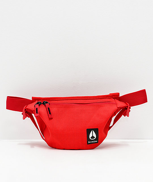 Nixon Trestles Red Fanny Pack