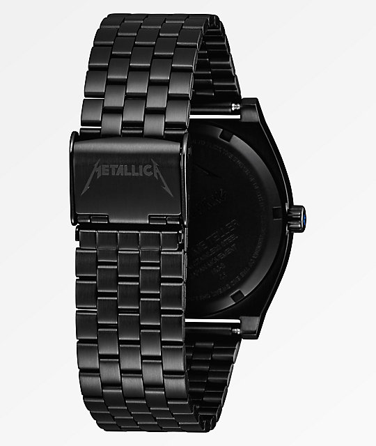 Nixon x Metallica Time Teller Ride The Lightning Black Watch