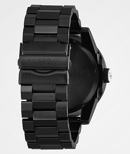 Nixon x Mickey Mouse Corporal SS Black Surplus Analog Watch