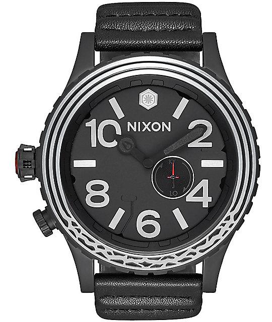 Nixon x Star Wars 51-30 Kylo Leather Black Watch
