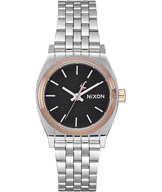 c4d83ab5801 Nixon x Star Wars Sentry SS Captain Phasma Silver Watch