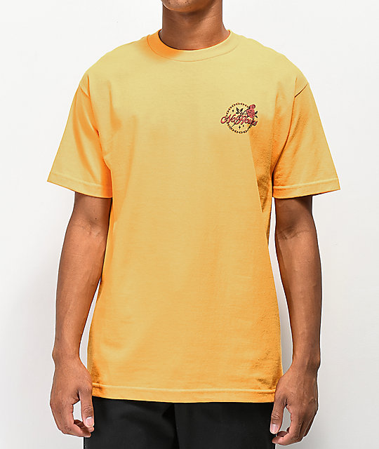 NoHours Bloom Gold T-Shirt