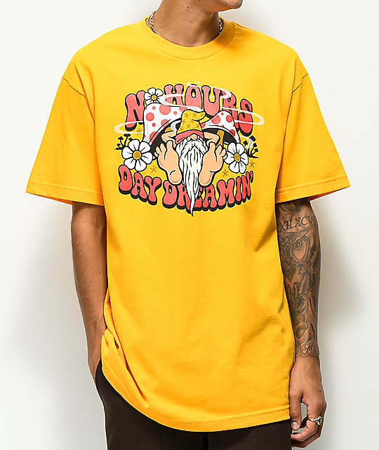 NoHours Dreamin Gold T-Shirt